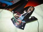 Y様ジャガーバッテリーアクティブ回路取り付け